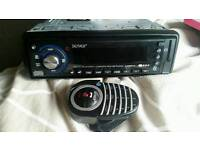 Car Stereo USB, Bluetooth, Remote Control