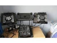 CDJ-400 DJM-400 Wing Stand