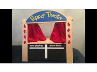 ELC Wooden Puppet Theatre
