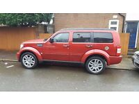 Dodge Nitro One Owner from New Low Milage 46000 Service History 4x4 Automatic