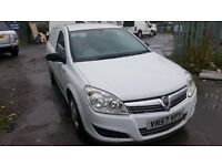 vauxhall astra van in good condition with low mileage