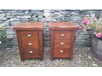Matching 3 drawer chests