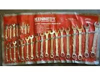 Kennedy combination spanners