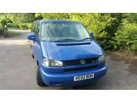 VW T4 Caravelle 2.5 TDI 102bhp ACV, 5 speed manual