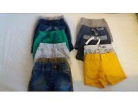 Tiny baby boy's clothes bundle