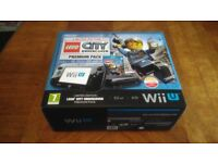 Nintendo Wii U Lego City Undercover Limited Edition pack - 32GB Black + 21 games and extras VGC