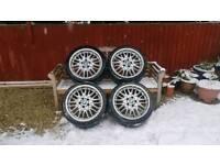 BMW M Sport 18 Inch MV1 Staggered Alloy wheels
