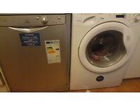 HARDLY USED DISHWASHER AND WASHING MACHINE.COLLECT BY SUNDAY EALING LONDON