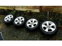 Bmw E60 Alloy wheels & tyres
