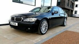 BMW 730D with beige leather - full service history - excellent condition - with Private Plate