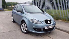 2007 SEAT Altea 1.9 TDi Sport, NEW MOT, low miles, £2495