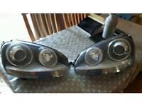 Mk5 Golf Hella Xenon look Head lights