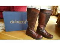 Dubarry Ladies Boots Clare Style Size 7