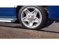 "landrover mondials 18"" vw alloys"