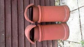 chimney pots with cowls