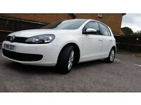 VW GOLF *WHITE* Front and Rear, Parking Sensor, Bluetooth, Stop and Start