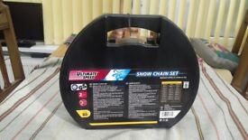 Ultimate speed snow chains. New. Size 80.