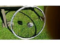Fulcrum Racing 5 wheel + Campagnolo cassette