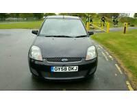 2008 Ford FIESTA 1.2 STYLE CLIMATE 3-door Hatchback, Manual, Black