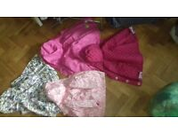 Clothes bundle and 4 coats all aged roughly 2-4