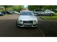 2009 Audi A4 2.7 tdi v6 7 speed auto spares or repairs damaged salvage cat d good runner