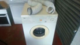 ZANUSSI TD4112W VENTED TUMBLE DRYER IN WHITE AND CREAM