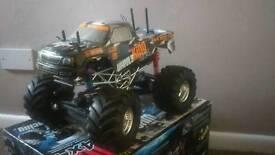 Hpi wheely king Rc monster truck