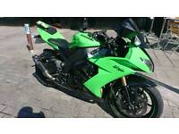 2009 kawasaki zx10r low miles. Full service history. Swap for 675. Fireblade s1000 gsxr1000 r1