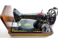 Vintage Singer 99k manual sewing machine