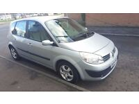 Automatic 2004 Renault Scenic Expression A 1.6 Petrol 5 Door 81000 Miles Good Condition..