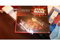 STAR WARS - Chess Set Episode 1 - Collectors Item
