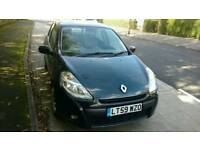 Renault Clio 2009 1.6 automatic 5 door black
