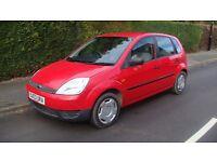 Ford Fiesta 1.3 petrol, 5 door, low mileage, 12 month MOT