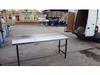 6ft /8ft/10/ft /4ft/ stainless steel catering tables ,