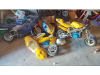 3 mini motos