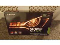 Gigabyte NVIDIA GeForce GTX 1070 G1 Gaming Graphics Card