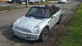 Mini Sidewalk Convertible- Limited Edition, only 47k, Full Leather, FSH, 12 months MOT