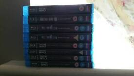 dr who blu ray collection