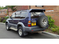 Toyota Landcruiser Prado TZ 3.0 TD (Diesel) Auto LWB (1997/P Reg) + 7 Seater + JAP IMPORT +HUGE SPEC
