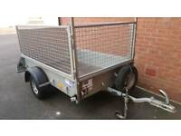 Ifor Williams trailer p6e with cage/mesh sides 2015