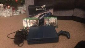 Xbox one 1tb, 1 controller and six games boxed