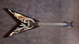 Kerry King signature BC Rich Flying V guitar Onyx Tribal REDUCED******