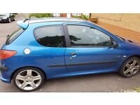 Hi selling my peugeot 206 9 month mot cheap insurance and tax