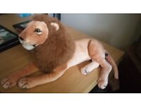 Large Cuddly Lion by Somerset Toys