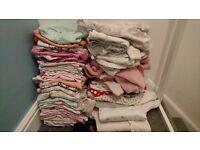Massive bundle of baby girl clothes newborn-3mths