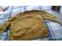 (Both for £7) mens xxxl jumpers but shrunk in wash so more like xl- in very good condition