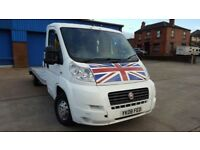 Recovery Truck Fiat Ducato 2.3 JTD 3 Half Tonne (LWB) Low Miles 1 Year MOT Starts And Drives Mint