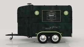 Mobile Gin Bar, run your own bespoke mobile Gin Bar, ideal for festivals and events.
