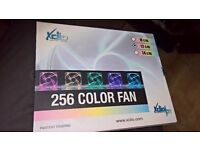 3 x Xclio 256 Colour LED Quiet Fan 120mm with Smart Controller