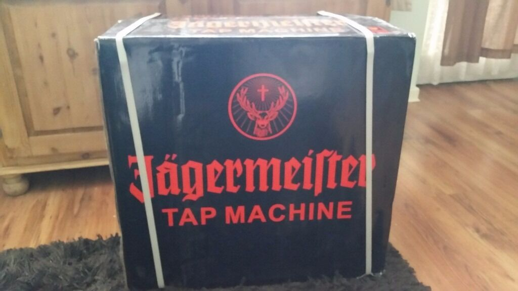 Brand new in box jagermeister tap machine